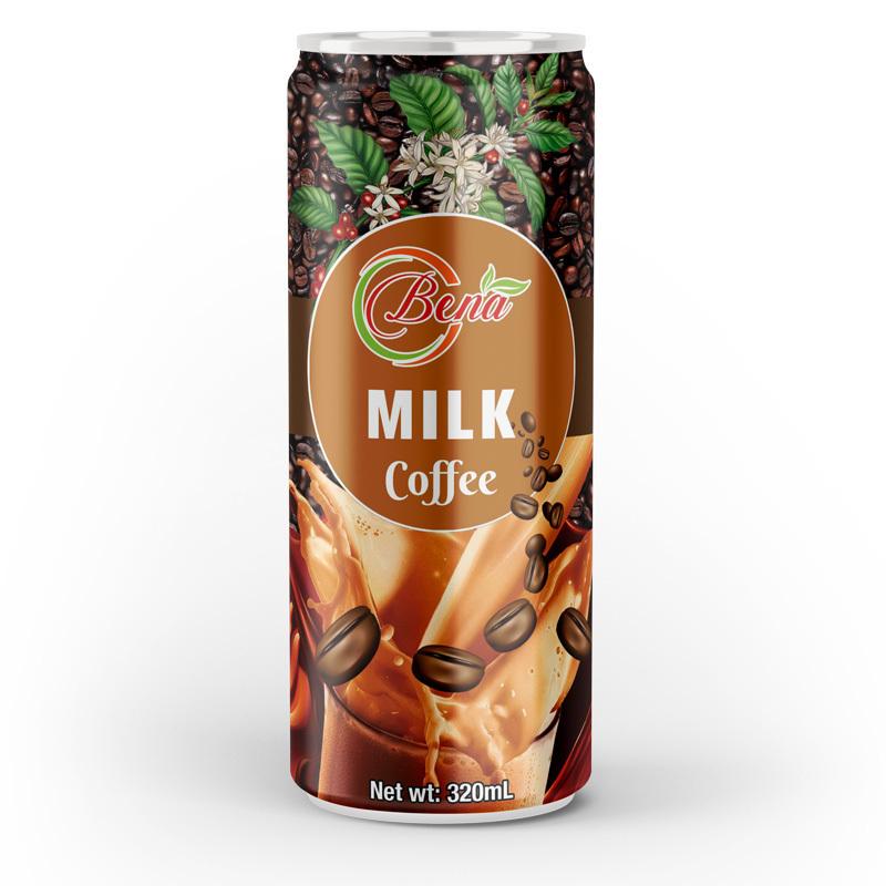 bulk premium milk coffee drink canned oem odm