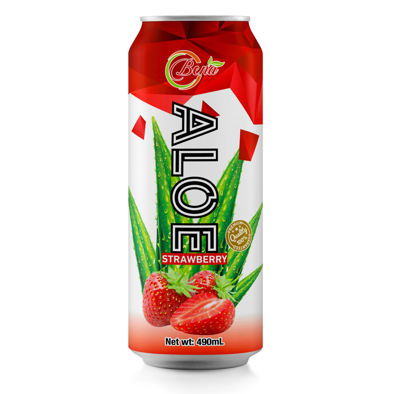 490ml cans maximum strength natural aloe vera juice strawberry juice to drink