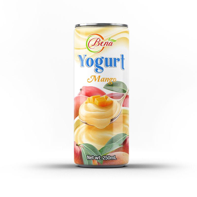 Premium yogurt milk blueberry flavor drink private label