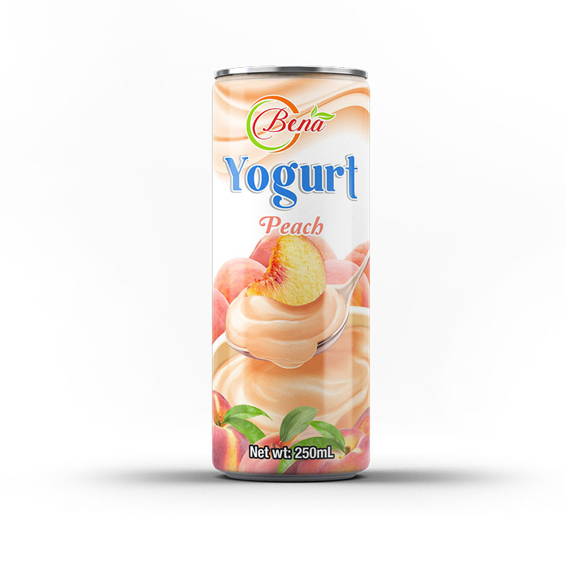 Wholesale High quality Yogurt peach milk drink