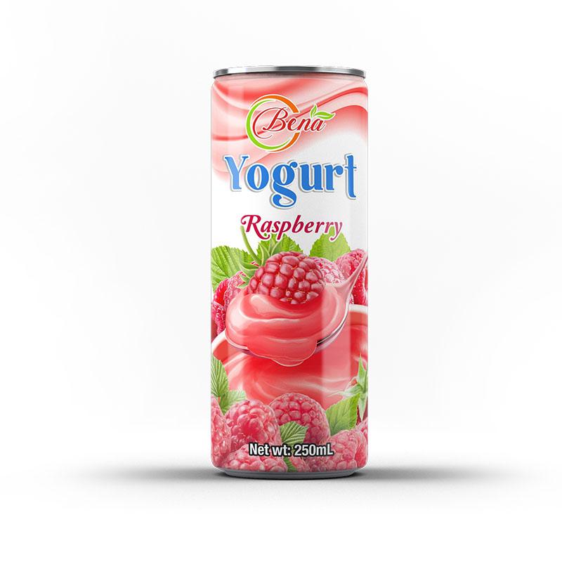 Suppliers 250ml canned Yogurt raspberry drink