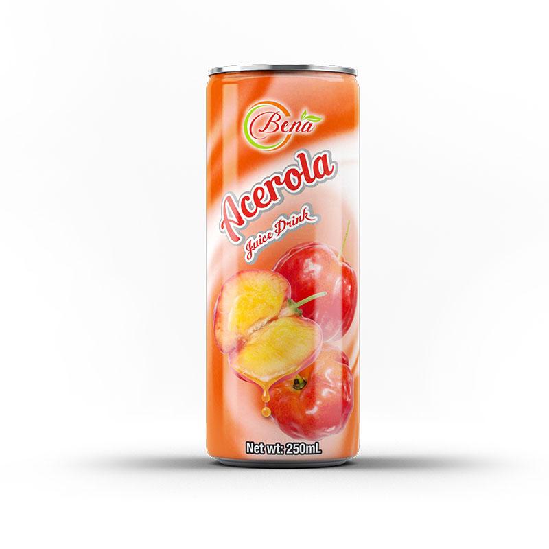 250ml canned fresh acerola juice drink